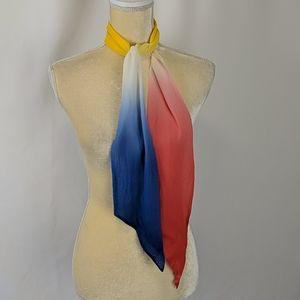 Vintage 100% Rayon made in Japan scarf